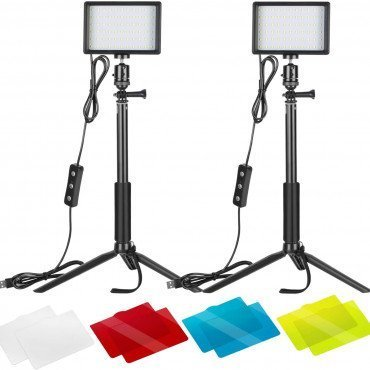 Neewer 2-Pack Luz LED Video